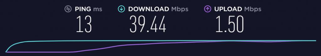 test bande passante sans connexion