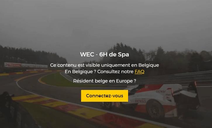 Ce contenu est visible uniquement en Belgique