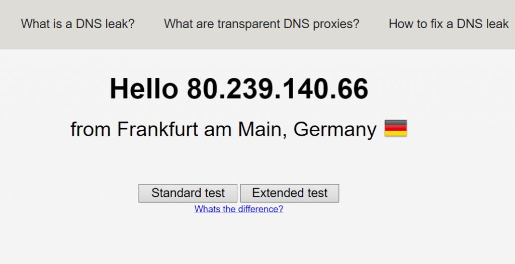 test de fuite de données 3