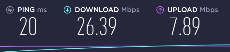 Connexion VPN test de connexion