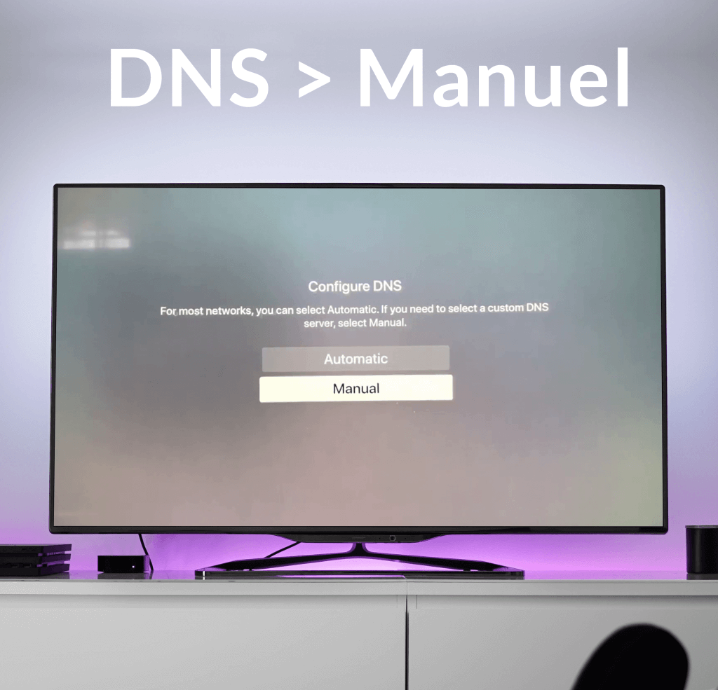 Configurer-SmartDNS-manuellement-appletv