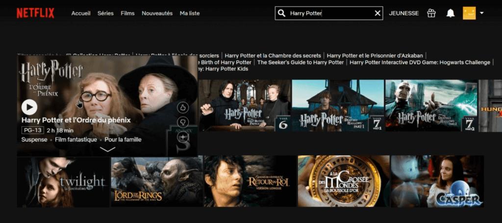 exemple film disponible sur netflix