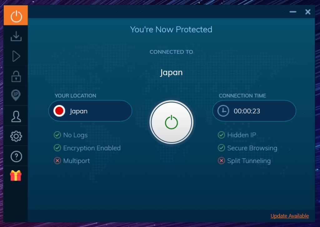 IP japonaise Ivacy