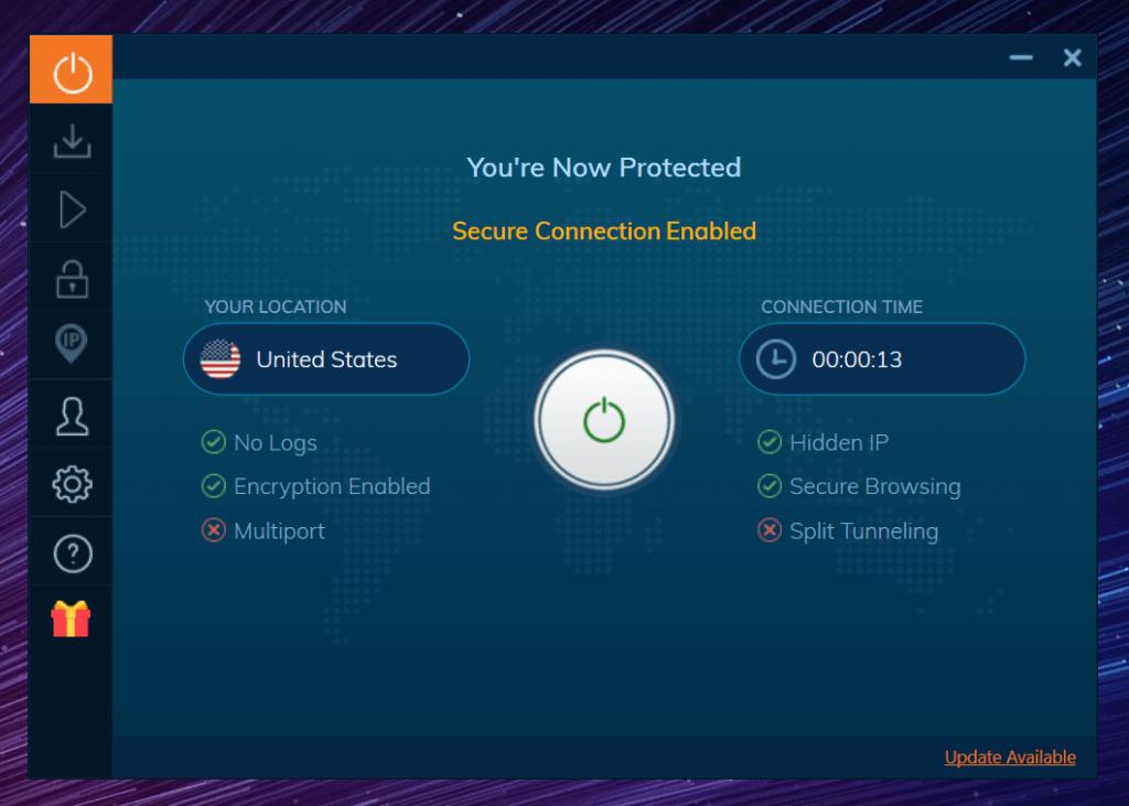 Bien connecté ivacy