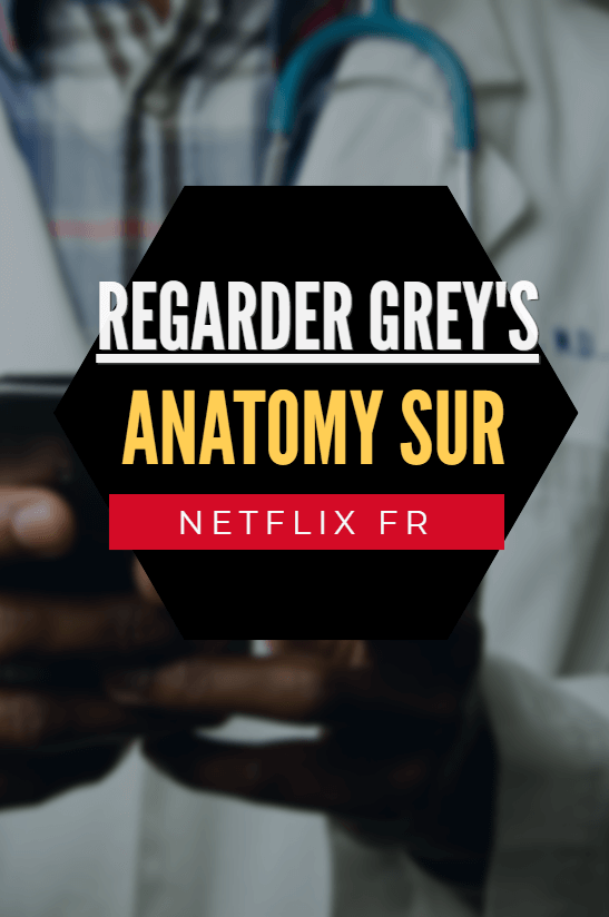 Pinterest netflix greys Anatomy